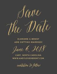 save the date st foil sted save the date cards gold silver gold