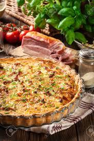 cuisine quiche lorraine quiche lorraine with bacon and cheese cuisine