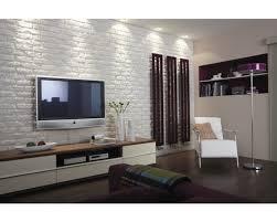 steinwand im wohnzimmer anleitung 2 verblender klimex weiß brick wall decor