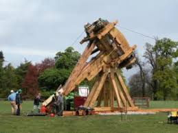 siege i size carpenter oak woodland size siege catapult for sale on
