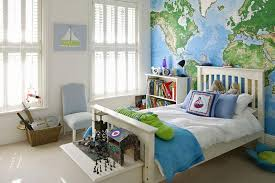 Boys Bedroom Ideas 15 Boys Bedrooms With Map Walls Rilane
