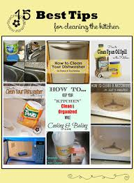 15 best cleaning tips for the kitchen onecreativemommy com