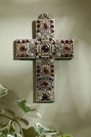 decorative crosses for wall outstanding decorative crosses for wall garnet gemstone wall cross