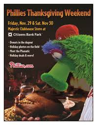 season of fan events starts with phillies thanksgiving