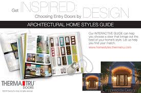 homestyles com architectural home styles for professionals therma tru doors