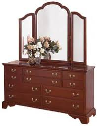 Bedroom Dressers With Mirrors Cherry Bedroom Furniture Cherry Dressers Cherry Mirrors Cherry