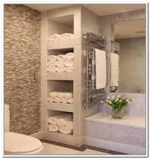 Storage Bathroom Bathroom Shelves Modern Bathroom Towel Storage Home Design Ideas