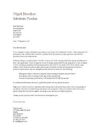 cover letter for substitute 28 images outstanding cover letter