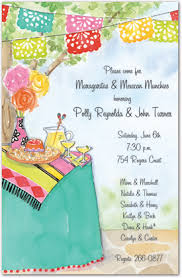 invitations mexican invitations