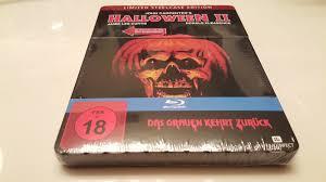 halloween 2 ii metalpak steelbook light up eyes u0026 theme music blu