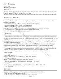 Resume Samples Network Technician by What Is Plain Text Resume Free Resume Example And Writing Download