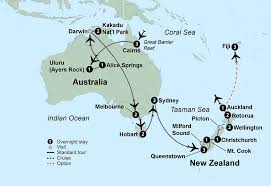 auckland australia map australia new zealand nagel tours