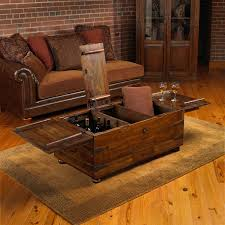 Coffee Tables Rustic Wood Furniture Adorable Rustic Trunk Coffee Table Wood Design For Top
