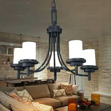 Wrought Iron Pendant Light Wrought Iron Hanging Lighting Fixtures Light Black Chandeliers