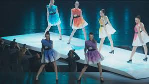 the fashion show from the rockettes new york