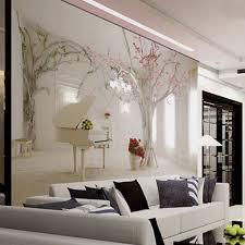 cherry flower tree wallpaper murals 3d wallpapers for living room