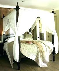 Curtains For Canopy Bed Canopy Bed Ideas Canopy Sheer Curtains Taupe Striped Sheer Canopy