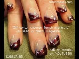 nail design center center chevron manicure for nails mag robin moses nail