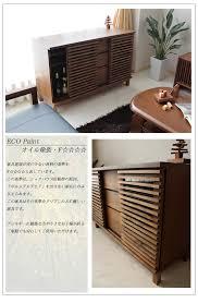 sideboard cabinet kagunomori rakuten global market living chest 120cm in width