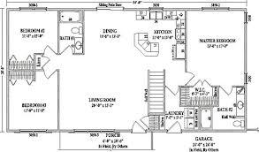smartness design open floor plans for a ranch house 12 plan w2185