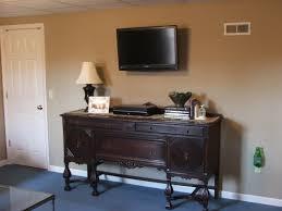 buffet or dresser as a plasma tv stand