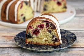 raspberry and blueberry bundt cake recipe