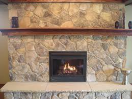 natural stone for fireplace home design