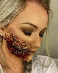 latex for halloween makeup zombie mouth liquid latex halloween tutorial youtube