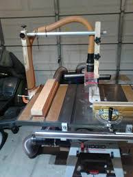 Table Saw Dust Collection by Overhead Table Saw Dust Collection Blade Guard By Kurt T