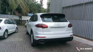 porsche suv in india 2015 porsche cayenne facelift spied in india