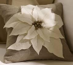 Christmas Pillows Pottery Barn Poinsettia Pillow Pottery Barn Knock Off Poinsettia Pottery
