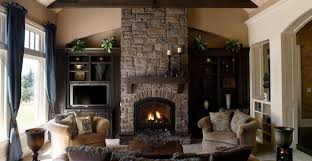 Decorating Your First Home Living Room Rustic Fireplaces Beautiful Comfortable Craftsman