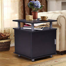 Storage End Tables For Living Room End Tables Ebay