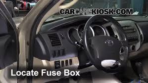 2005 toyota tacoma fuse box interior fuse box location 2005 2015 toyota tacoma 2008 toyota