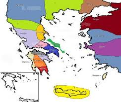greece map political map contest ancient greece