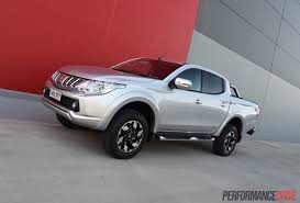 triton mitsubishi 2016 2016 mitsubishi triton review gls u0026 exceed video