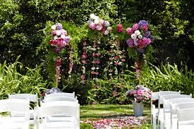 how to build a trellis archway wedding diy build a floral wedding arch