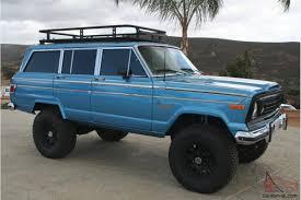 teal jeep for sale wagoneer custom 4x4
