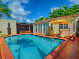 dutch west indies estate tropical exterior miami great coconut grove miami 3 2 home with pool vrbo
