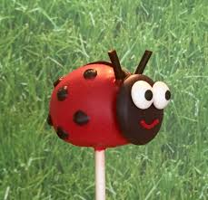 ladybug cake pops animal bug cake pops
