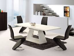 White Gloss Dining Tables And Chairs White Gloss Dining Table And Chairs With Inspiration Design 21641