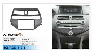 2008 honda accord dash kit aliexpress com buy xtrons car radio fascia for honda accord 2008