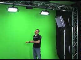 how to effectively light your green screen youtube