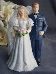 military air force wedding cake topper figurine wedding cake