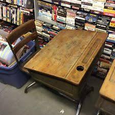 Antique Childrens Desk Vintage Desk Ebay
