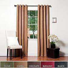 Insulated Curtains Amazon Amazon Com Best Home Fashion Thermal Insulated Faux Suede