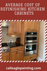 what is the average cost of refinishing kitchen cabinets average cost of refinishing cabinets refinishing cabinets