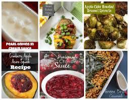 65 mouthwatering thanksgiving dinner side dish recipes