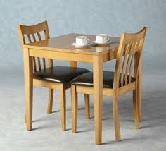 2 Seat Dining Table Sets Solid Wood Dining Room Sets 2 Seater Dining Table For Small Spaces