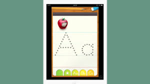 preschoolers learning to write with abc letter tracing youtube
